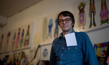Pete Fowler Portrait